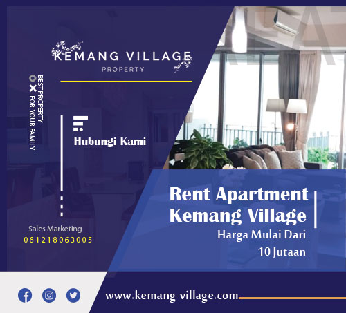 rent apartment kemang