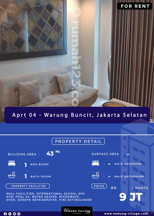 apartment kemang village